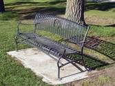 Park Bench - Installed at Site